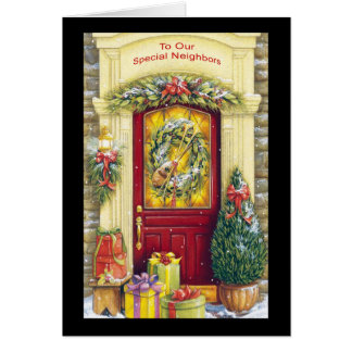 To Our Special Neighbors Greeting Cards