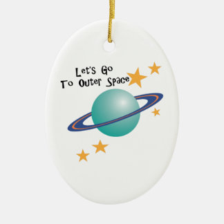 To Outer Space Christmas Tree Ornaments