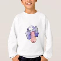 to pacifier sweatshirt