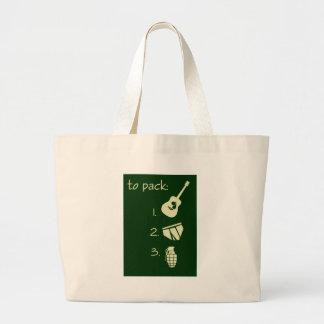 To Pack Jumbo Tote Bag