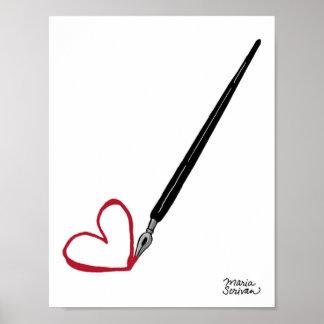 To Paris with Love Print
