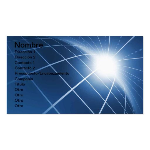 TO PAVE ENERGY BUSINESS CARD