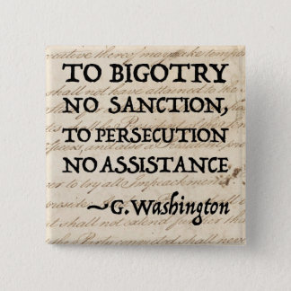 To Persecution No Assistance Pinback Button
