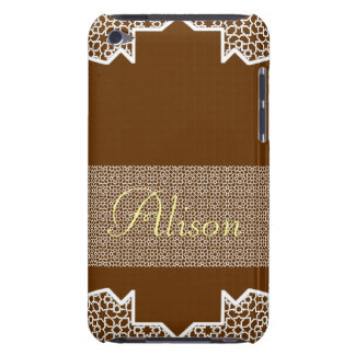 To personalize name. Arabesque mosaic of Morocco iPod Touch Cases