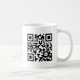 To personalize QR Code Coffee Mug