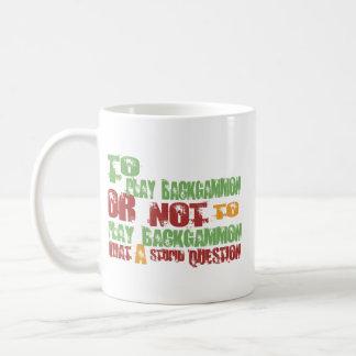 To Play Backgammon Coffee Mug
