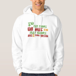 To Play Cornet Hooded Sweatshirt