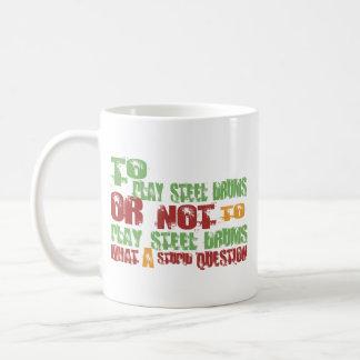 To Play Steel Drums Classic White Coffee Mug