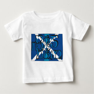 To Pog mA hone with SCO table flag Baby T-Shirt