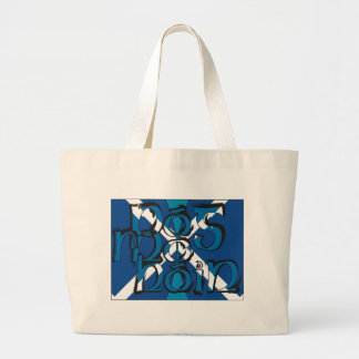 To Pog mA hone with SCO table flag Large Tote Bag