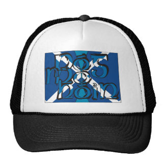 To Pog mA hone with SCO table flag Trucker Hat