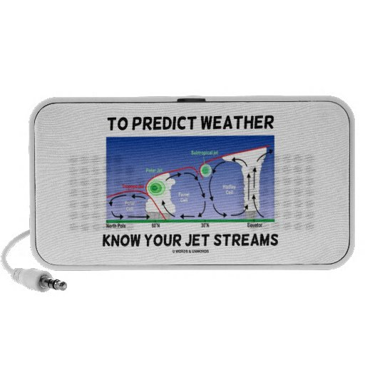 To Predict Weather Know Your Jet Streams Laptop Speaker