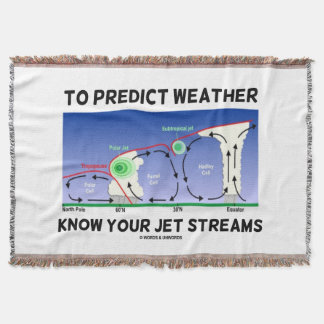 To Predict Weather Know Your Jet Streams Throw Blanket