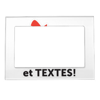 To print your designs in French line Magnetic Picture Frame