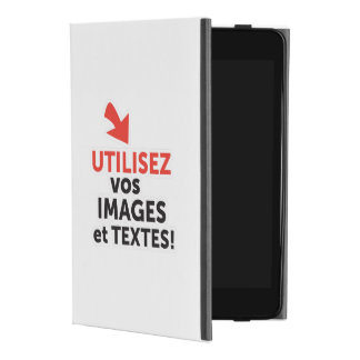 To print your designs in line DIY in French iPad Mini 4 Case