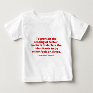 To Prohibit The Reading of Certain Books Baby T-Shirt