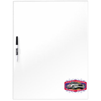 To Protect and Serve Dry Erase White Board