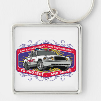 To Protect and Serve Keychain