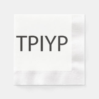To Put In Your Prayers.ai Coined Cocktail Napkin
