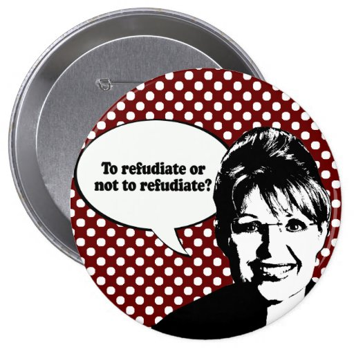To refudiate or not to refudiate pins