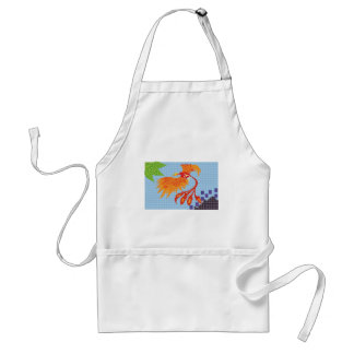 To resurge of the bird fenix apron