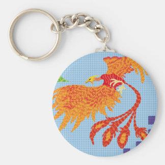To resurge of the bird fenix keychain