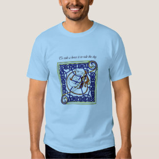 To ride a horse Men's T-shirt