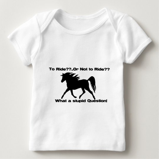 To Ride Horse shirt