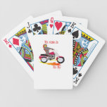 To Ride is to fly Poker Deck
