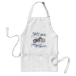 To Ride or Not II Adult Apron