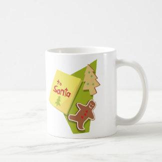 To Santa Classic White Coffee Mug