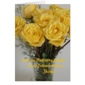 To Say Thank You Card