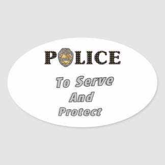 To Serve and Protect Stickers