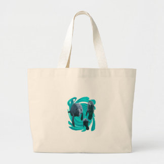 TO SHOW LOVE LARGE TOTE BAG