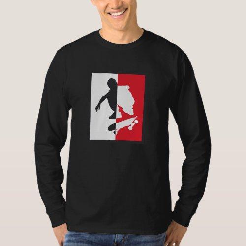 to skater 2 whiteai T_Shirt