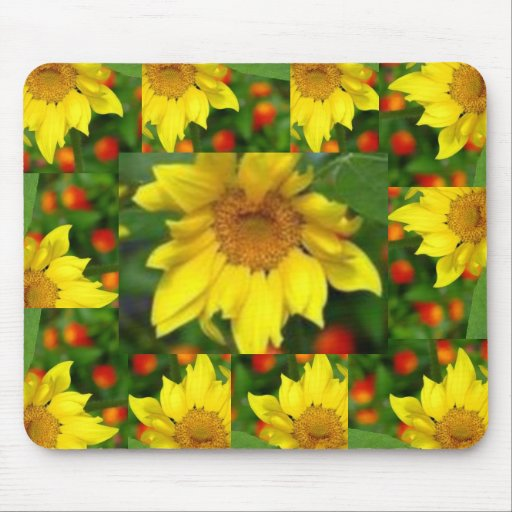 To small picture Sunflower,  Mouse Pad