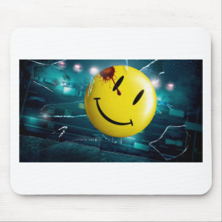 To smile Abstract art Mouse Pad