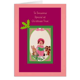 To Someone Special at Christmas Time Card