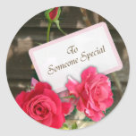 To Someone Special - Roses Stickers