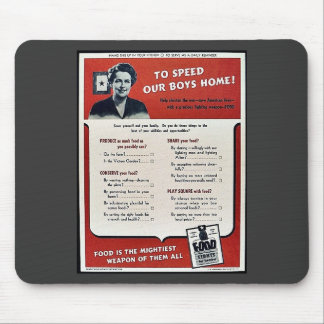 To Speed Our Boys Home! Mouse Pads