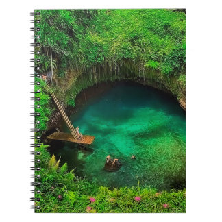 To Sua Ocean Trench.jpg Spiral Notebook