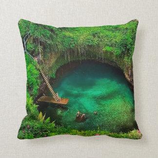 To Sua Ocean Trench.jpg Throw Pillow