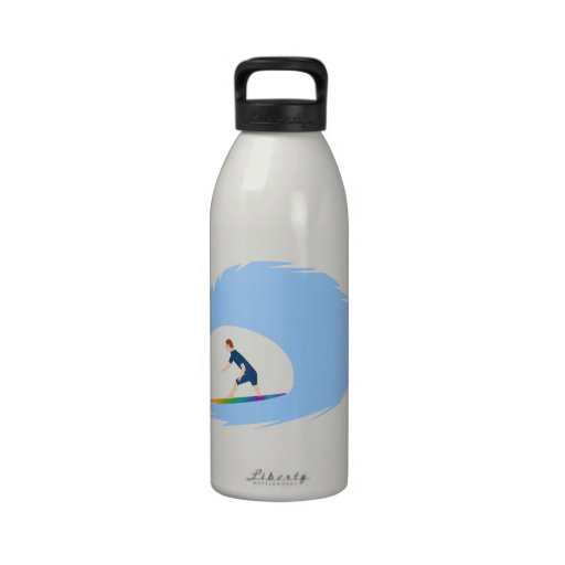 To surf - Surfer (04) Drinking Bottle
