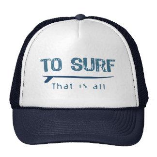 To Surf Trucker Hat