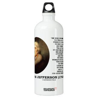 To Tell A Lie Once Habitual Falsehood Of Tongue SIGG Traveler 1.0L Water Bottle