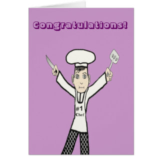 To the #1 chef card