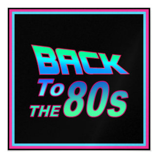 To the 80s 1 card