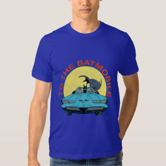 To The Batmobile - Distressed Icon Tee Shirt