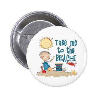 To the Beach Boy Button