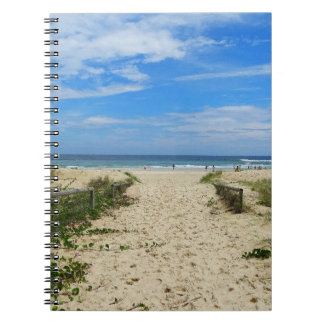 To the Beach Spiral Notebook